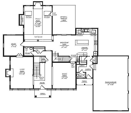 house plans with a mud room