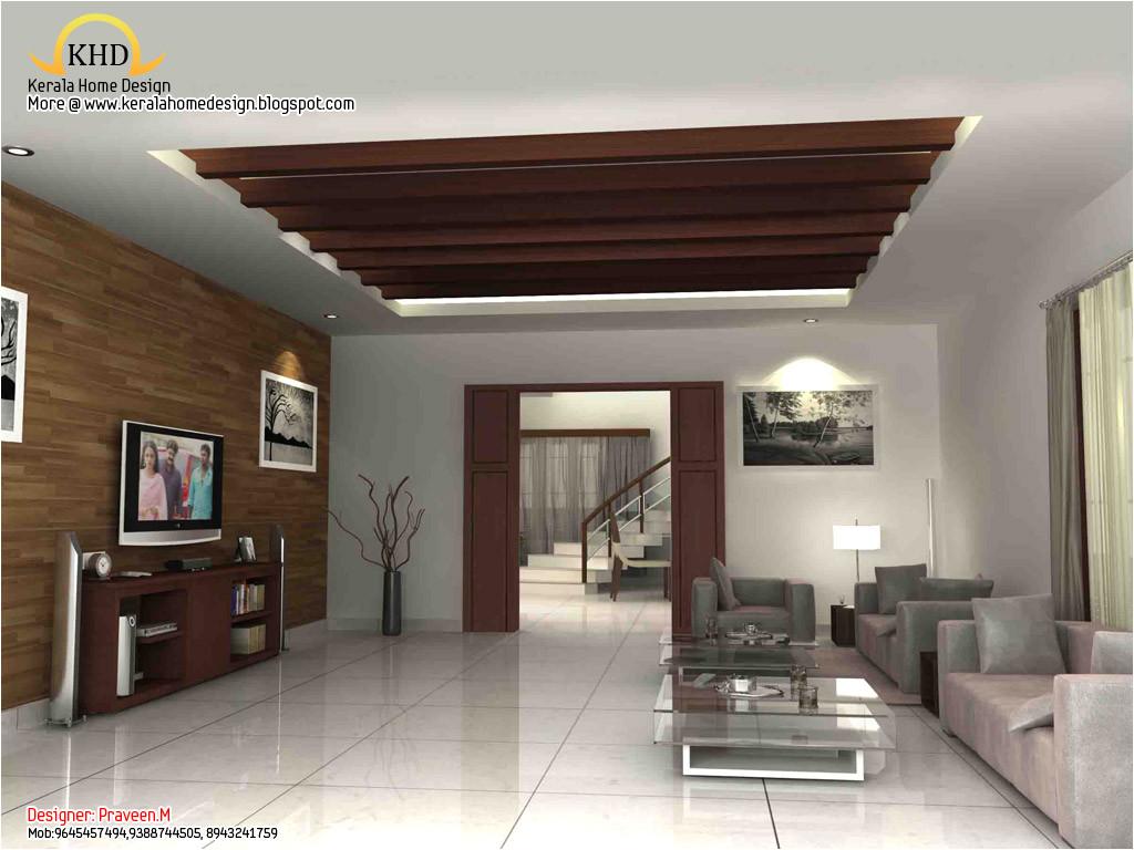 Home Plans with Pictures Of Interior 3d Rendering Concept Of Interior Designs Kerala Home