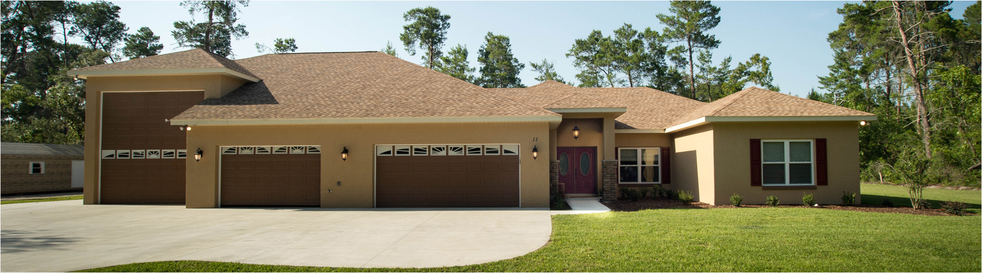 house plans with attached rv garage