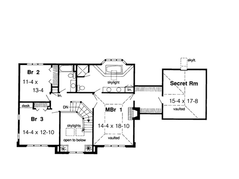 secret room house plans