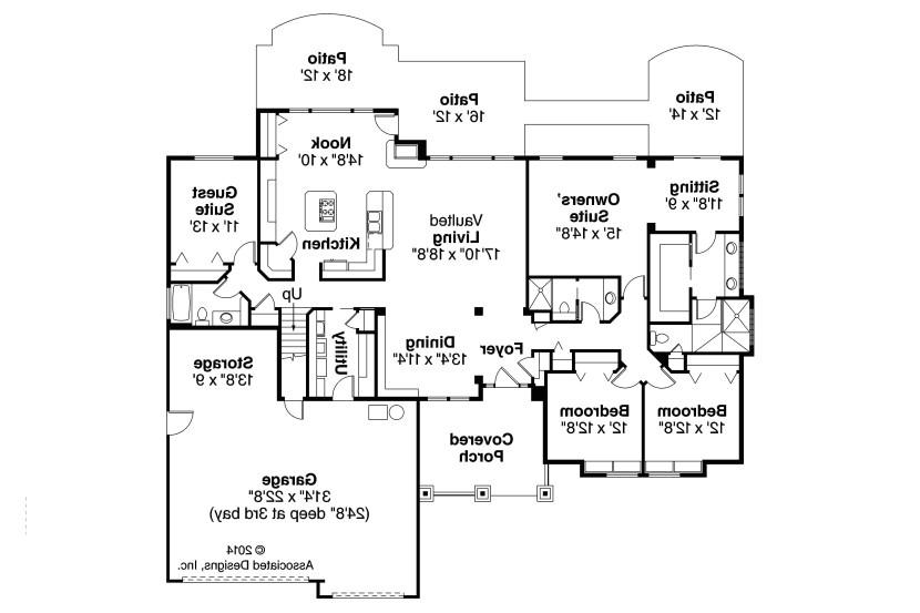 home floor plans with secret rooms