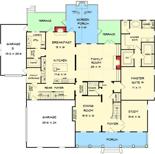 house floor plans secret rooms