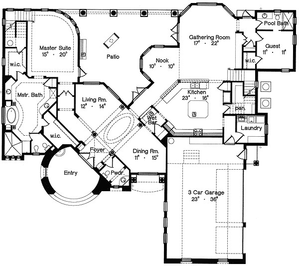 luxury house plans with secret rooms
