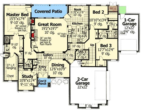 house plan 48308fm
