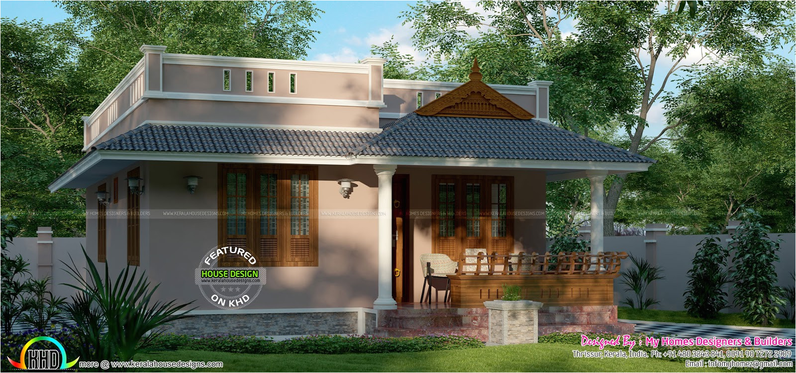 Home Plans15 House Designs Below Lakhs Home Plans In Kerala Below 5