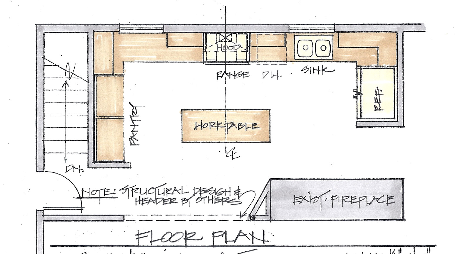 the floor plan is the most important factor in a remodel