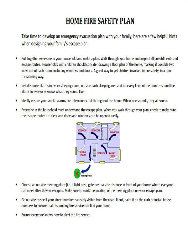 safety plan sample