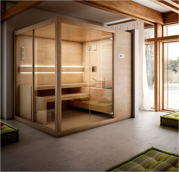 24 luxury home sauna ideas