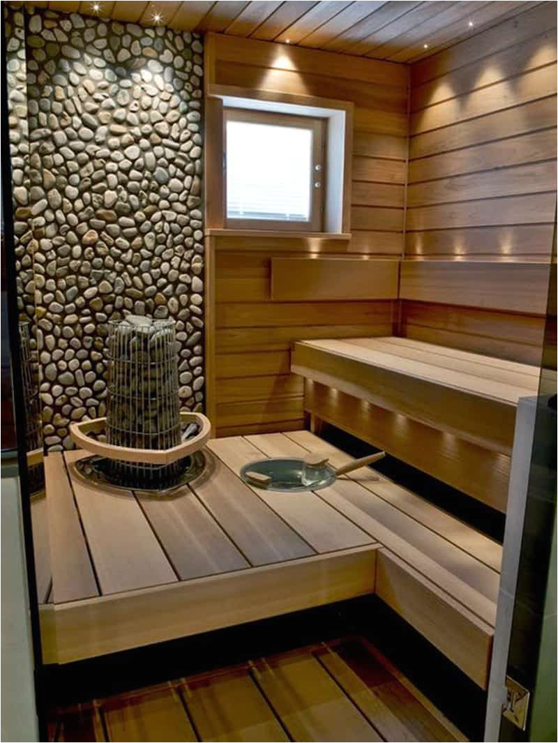 35 spectacular sauna designs home