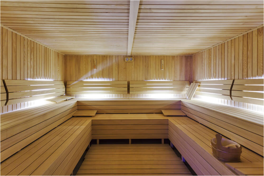 dry heat home sauna designs