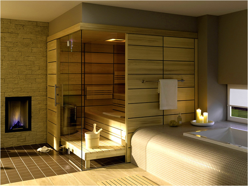 home private steam sauna room design ideas