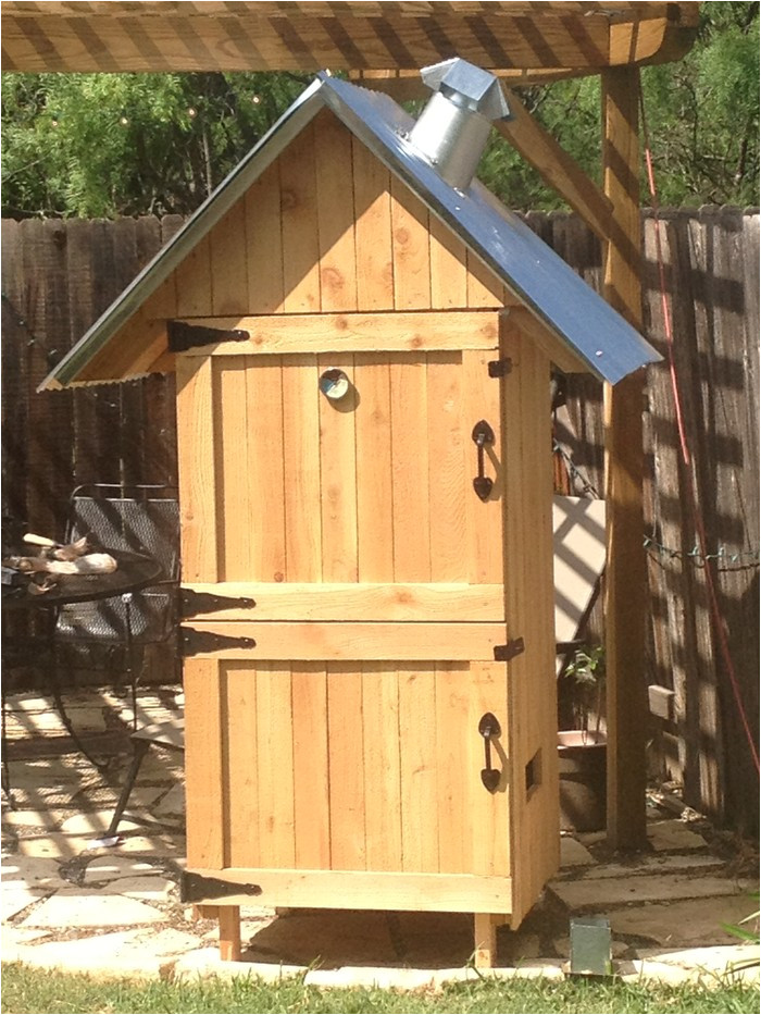 build your own wood smoker