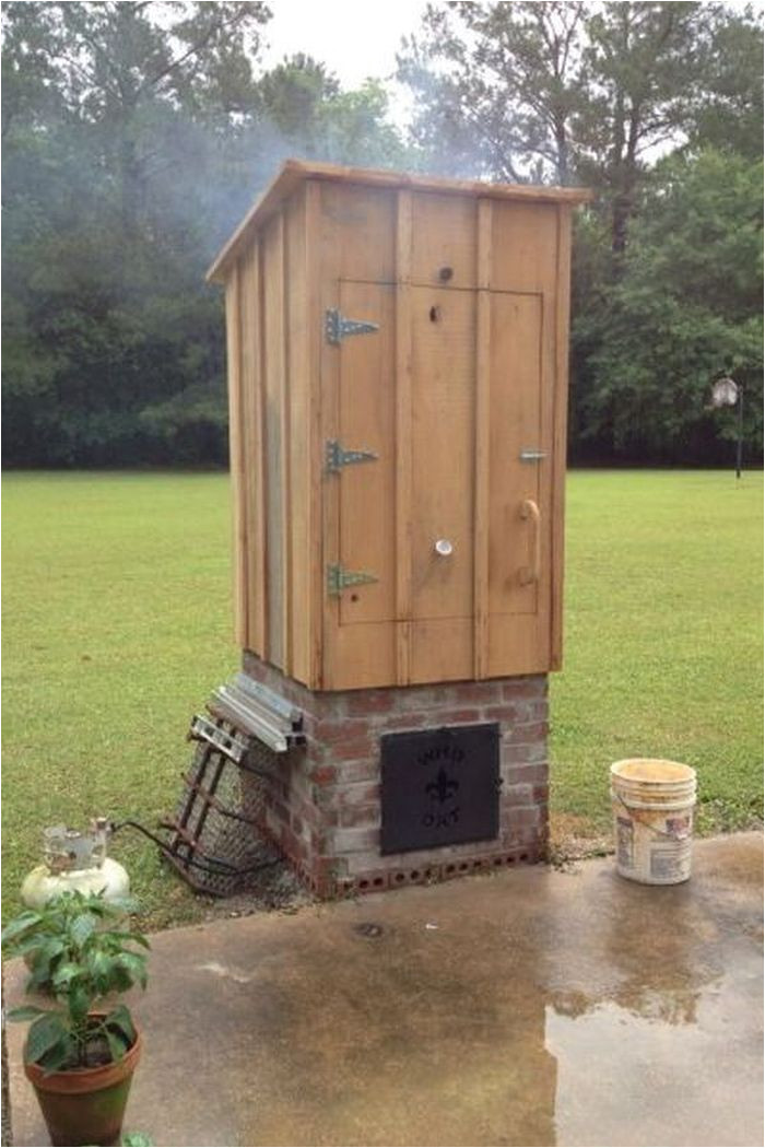 how to build a timber smoker