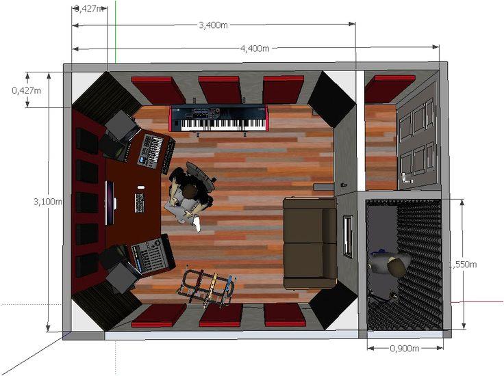 home recording studio plans