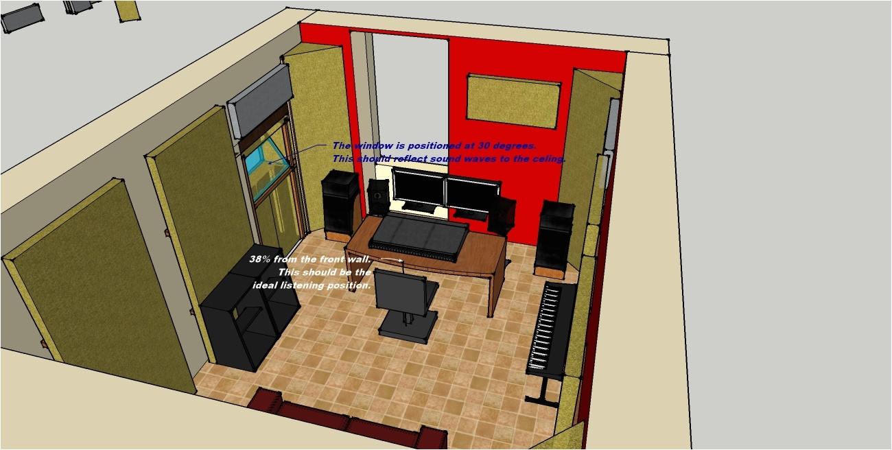 home recording studio design plans