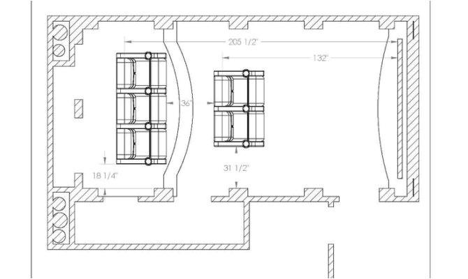 14 best photo of home theater floor plan ideas