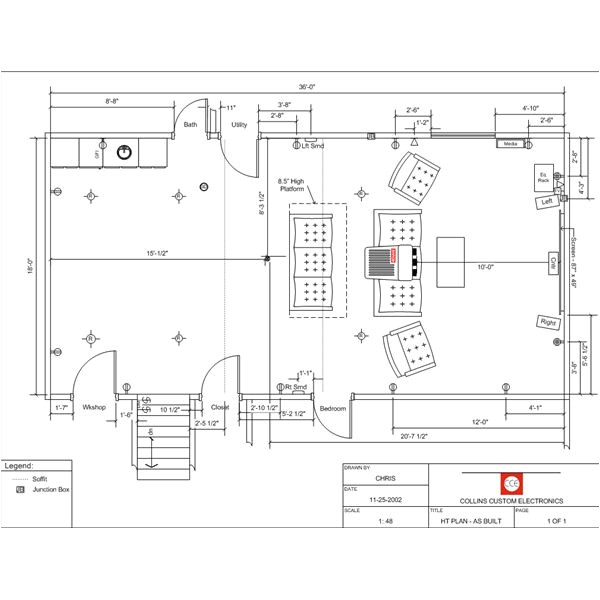 home theater building plans