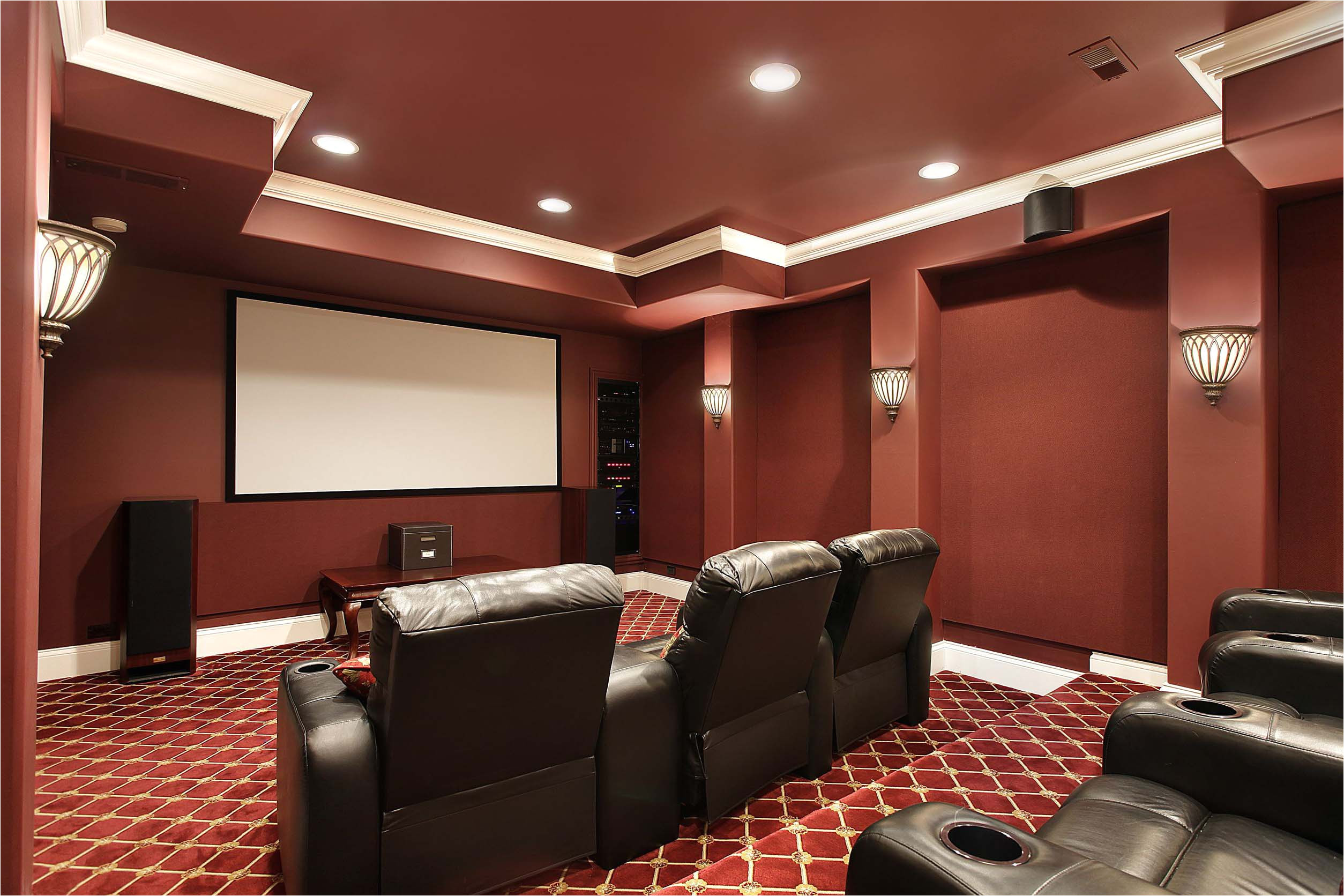 Home theater Plans Designs Interior Design Services Mcclintock Walker Interiors