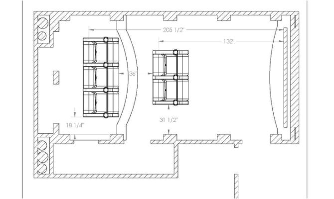 14 best photo of home theater floor plan ideas