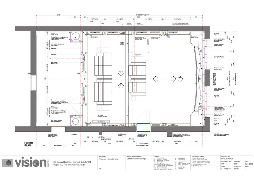 Home theatre Plan Home theatre Adelaide Vision Living are Adelaide 39 S Home