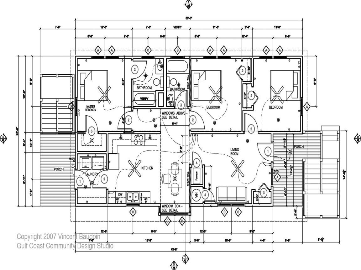modern residential building plans