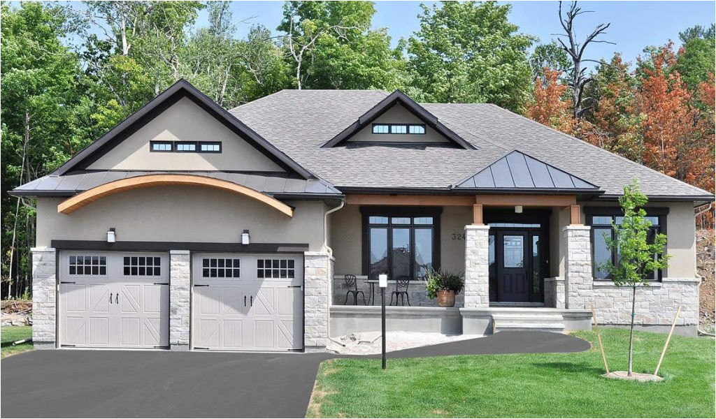 bungalow house plans with walkout basement fresh sunset woods beckwith doyle homes architecture plans