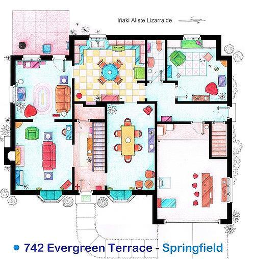 family guy griffins house floor plan