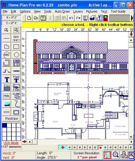 home plan pro home drawing software