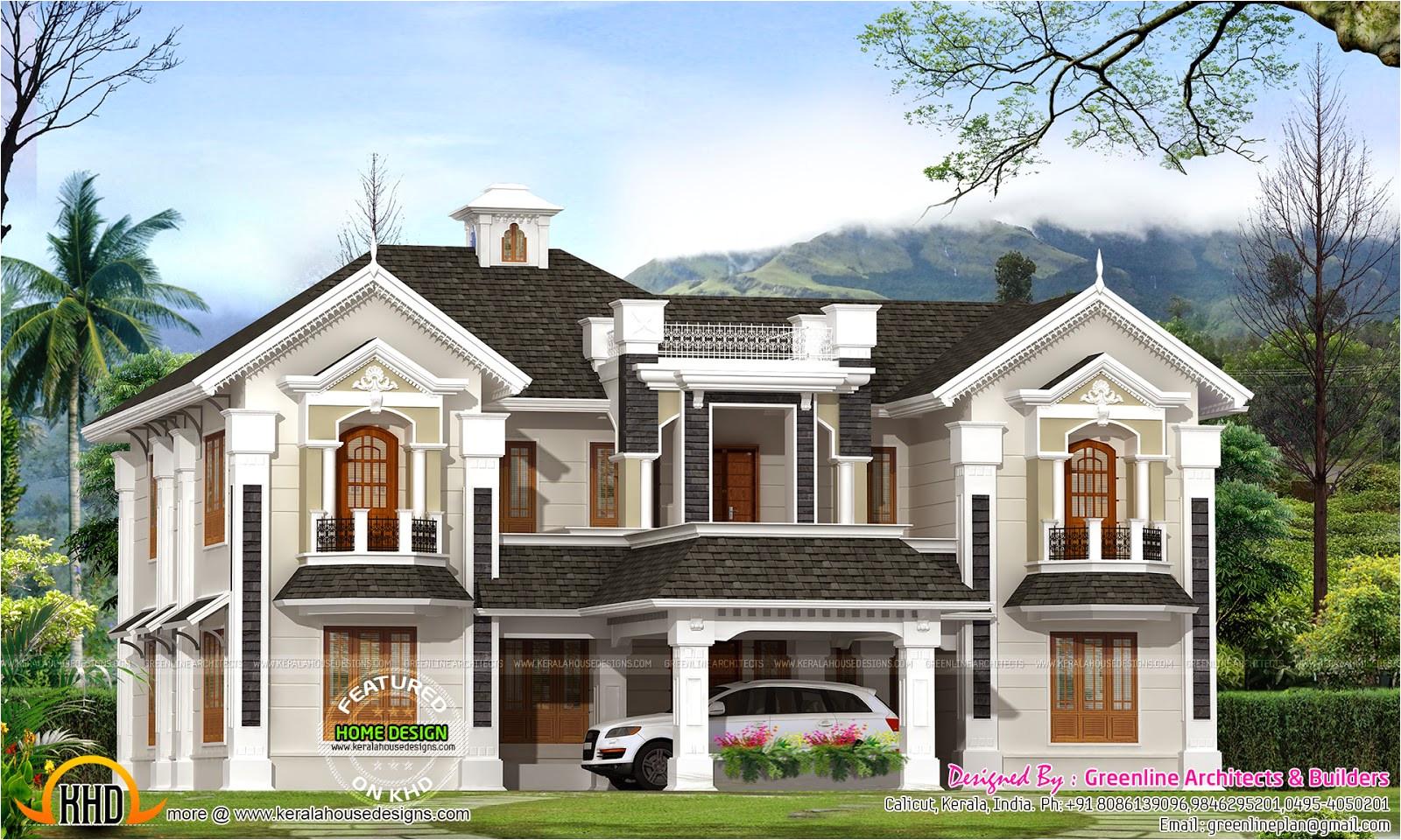 colonial style house kerala