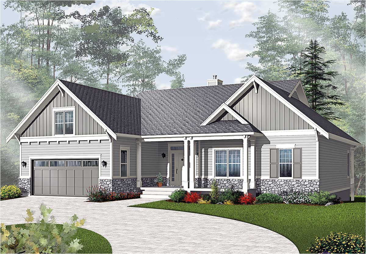 House Plans for A Ranch Style Home Airy Craftsman Style Ranch 21940dr Architectural