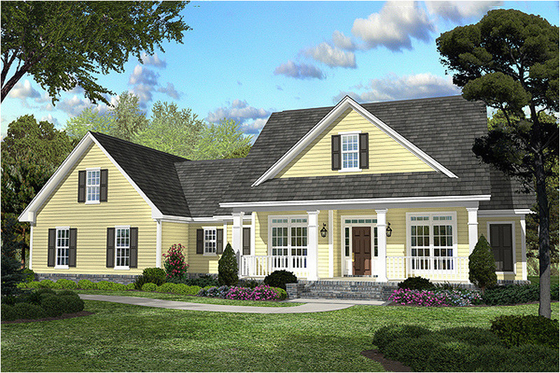2100 square feet 3 bedrooms 2 bathroom country house plans 2 garage 34255