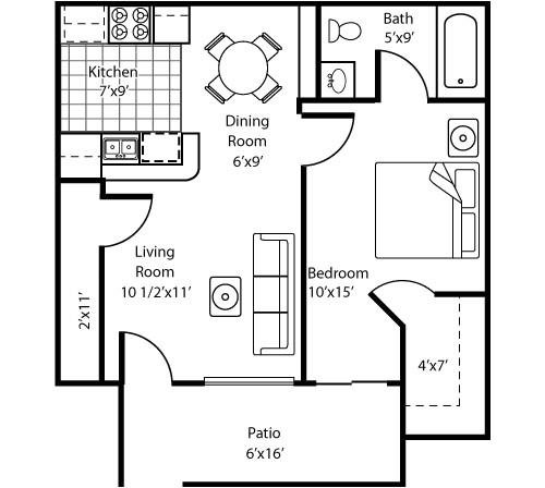 1 person house plans