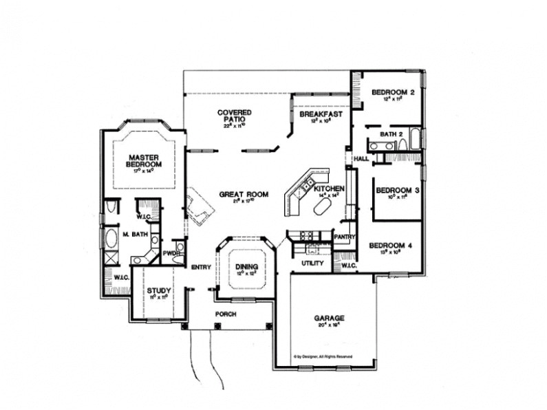 60 sq ft one level 60 bedroom house plans house plan four