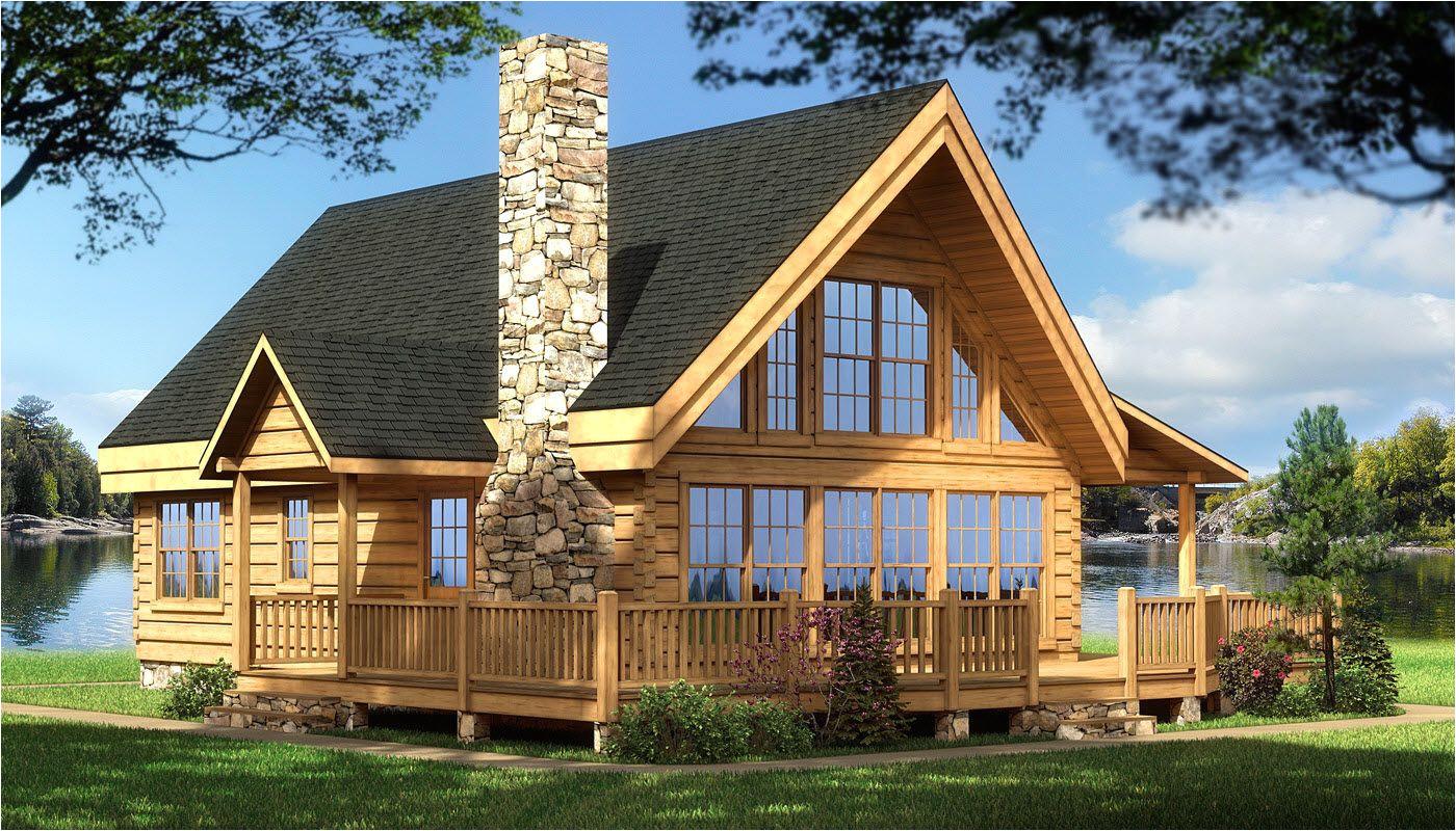 House Plans Log Homes Log Cabin House Plans Rockbridge Log Home Cabin