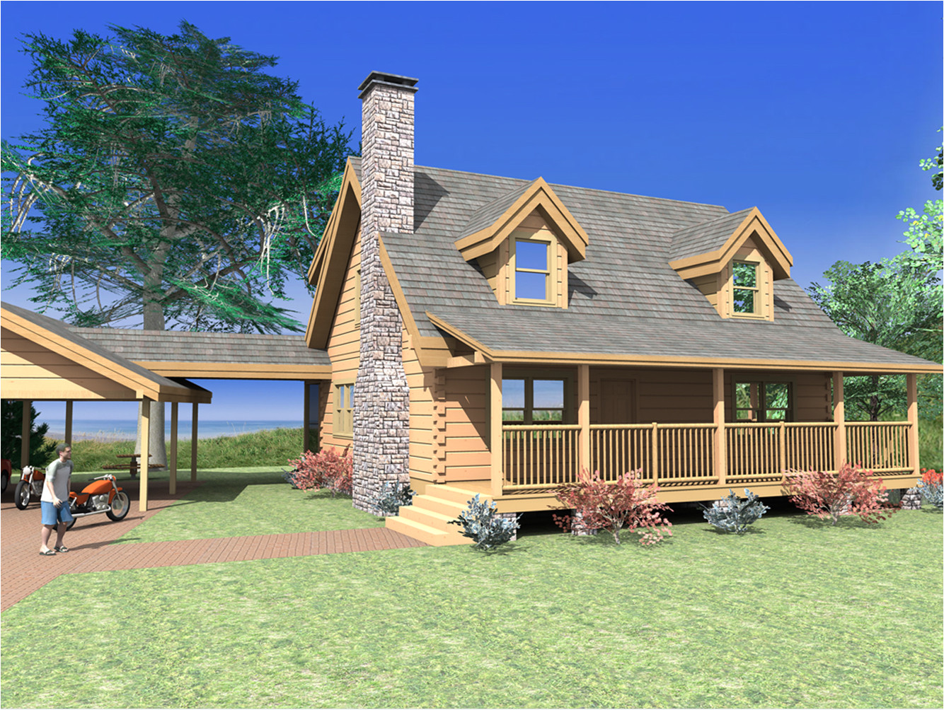 House Plans Log Homes Log Home Plans From 1 500 to 2 000 Sq Ft Custom Timber