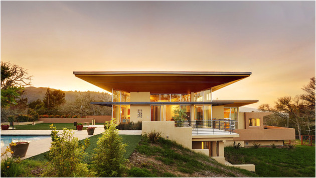 15 modern contemporary homes on a hill
