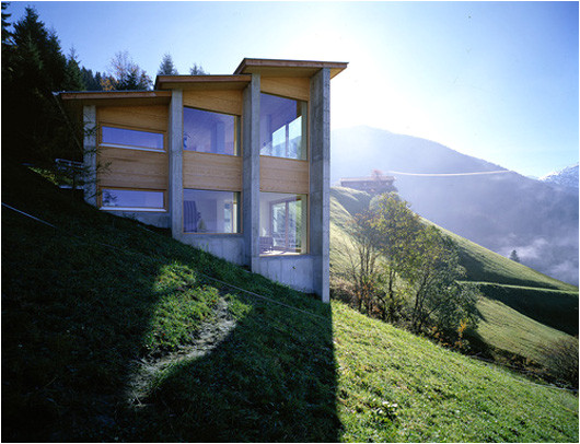 House Plans On A Hill Austrian Exposed House On A Hill Shelby White the Blog