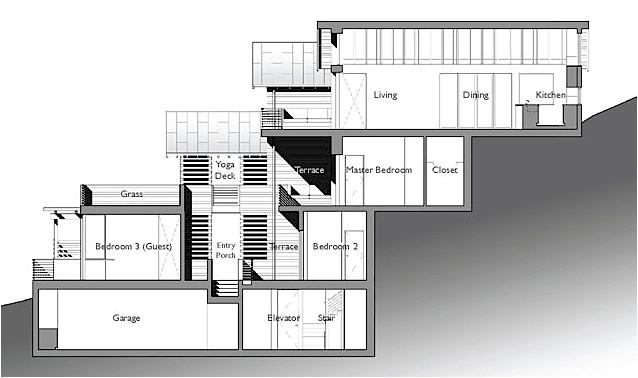 marin gets a platinum hillside house