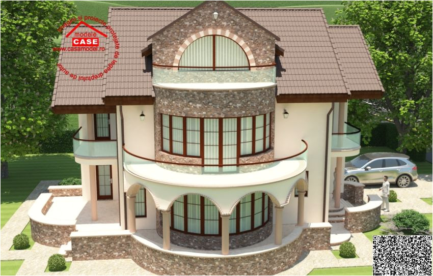 House Plans Round Home Design Round Balcony House Plans An Expressive Design