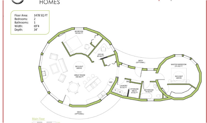 the 23 best circular home floor plans