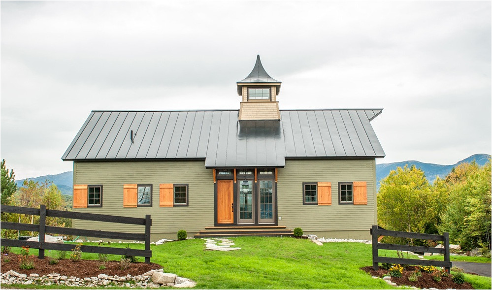 House Plans that Look Like Barns A New House Built to Look Like An Old Barn
