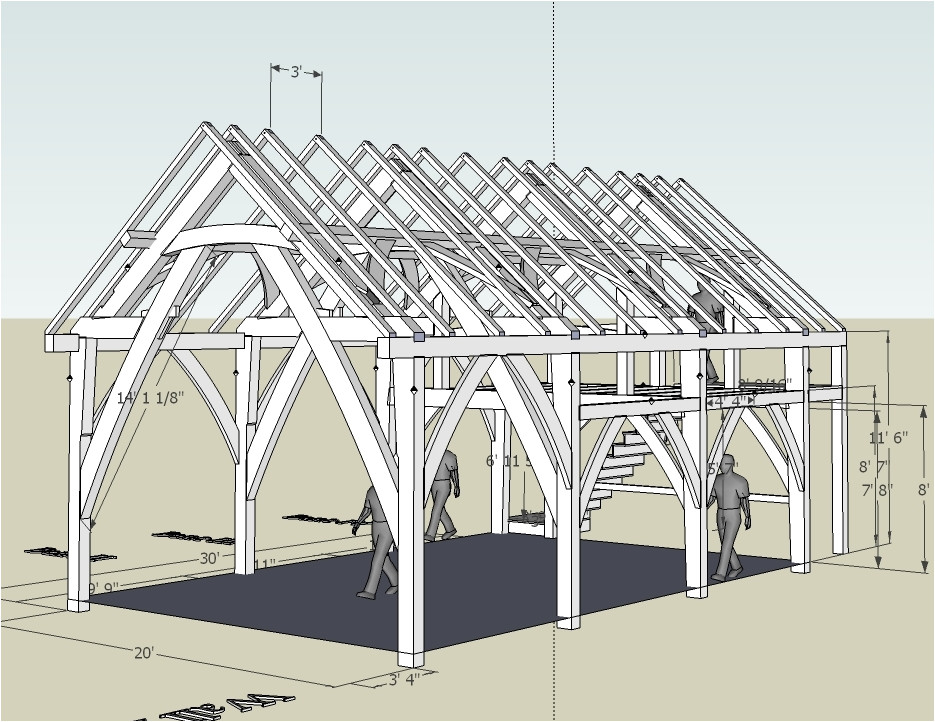 timber frame building techniques