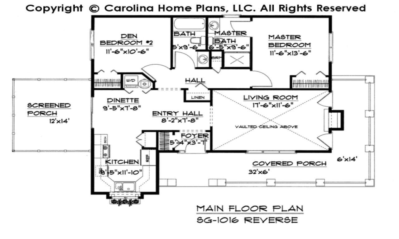 cottage house plans under 1100 sq ft