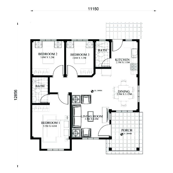 small house floor plans images free philippines