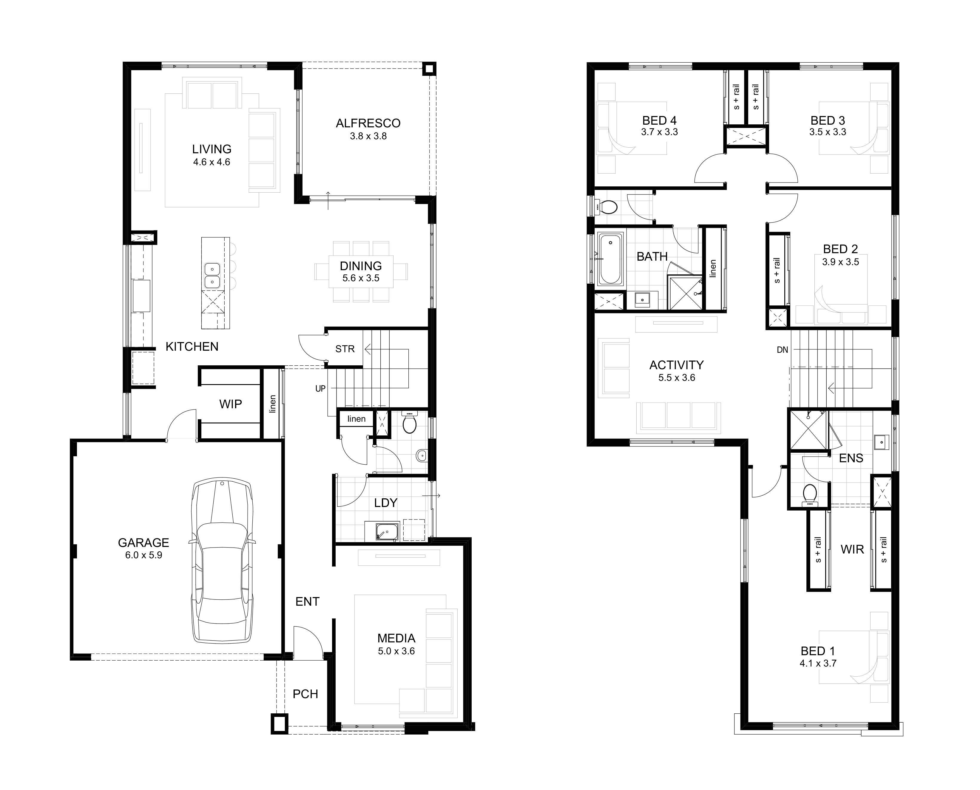 floor plans under 200k