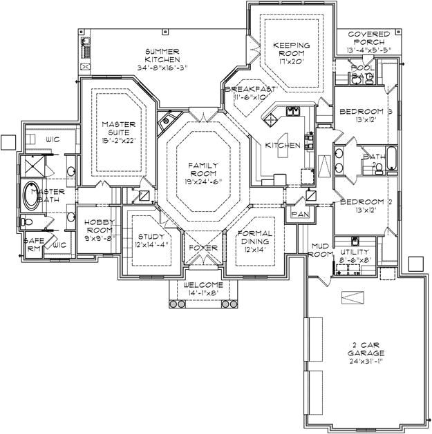 House Plans with A Safe Room House Plans with Safe Rooms Smalltowndjs Com