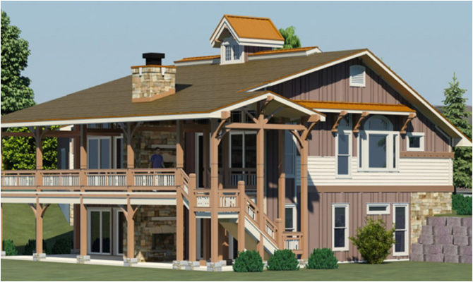 11 genius house plans with large back porch