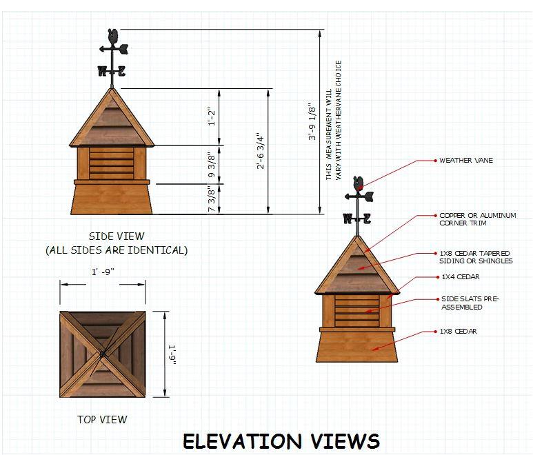 cupola plans