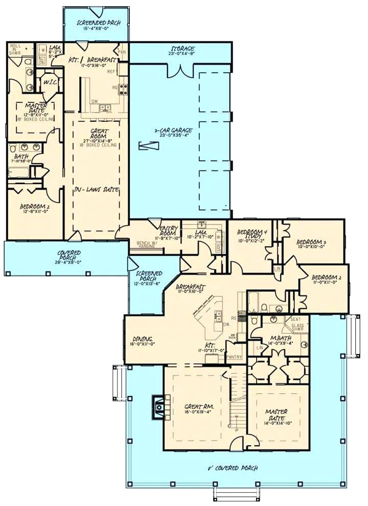 guest suite house plans