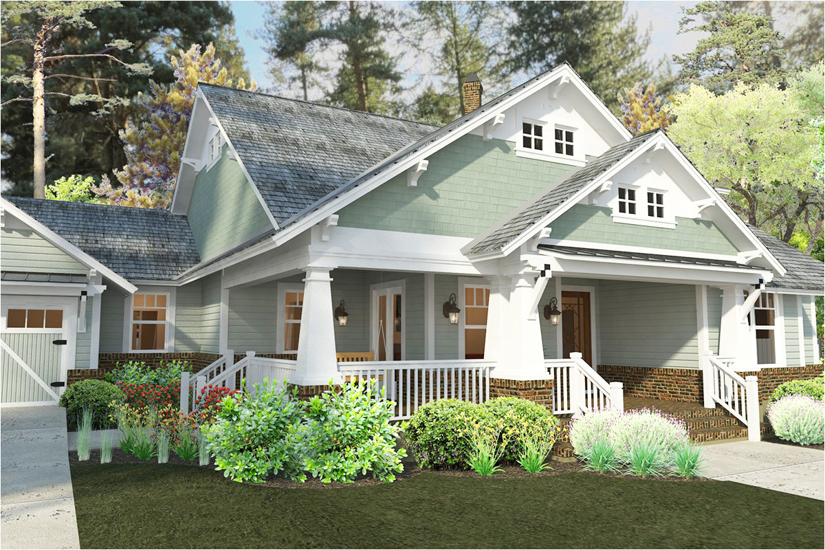 house plans with front porch and dormers